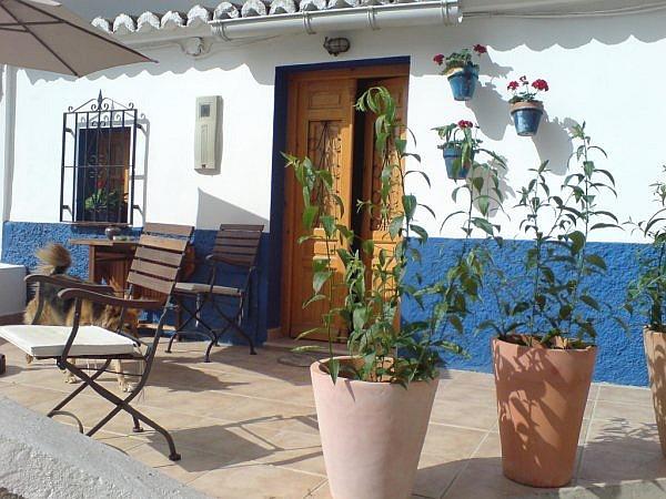Tipica casa andaluza en pueblo t pico andaluz 8001 for Casa andaluza