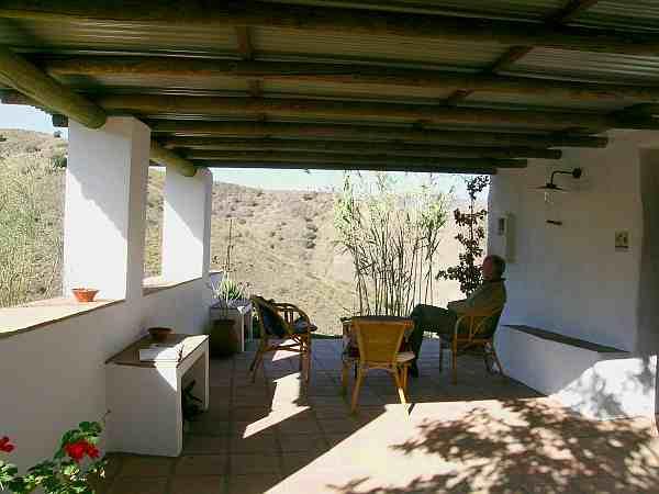 Cortijo andaluz muy bonito 8137 casa axarqu a for La azotea de la casa de granada